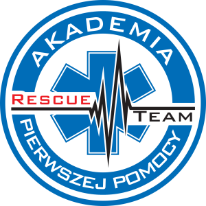 Logo akademia RESCUE TEAM bez tła